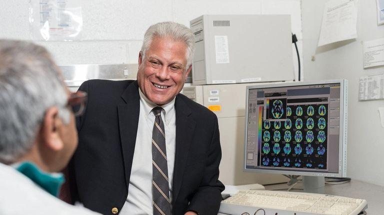 Dr. David Eidelberg of the Feinstein Institute for
