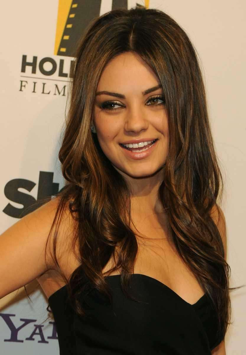 Actress Mila Kunis arrives on the red carpet