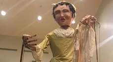 Giant 14-foot-tall puppets will parade through Stony Brook