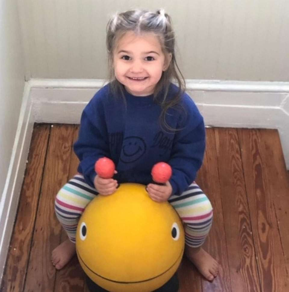 January Shea Kropp, 2, from Patchogue