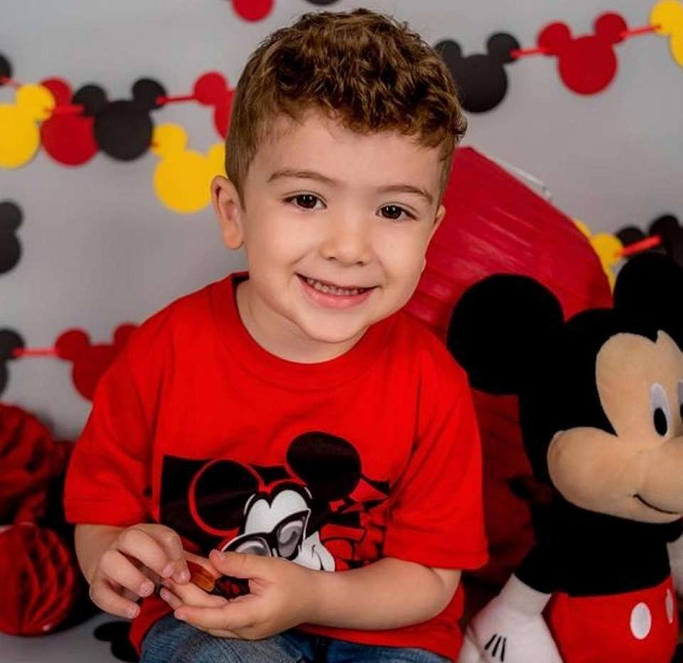 Mikail Mammadov, 3, from Wantagh