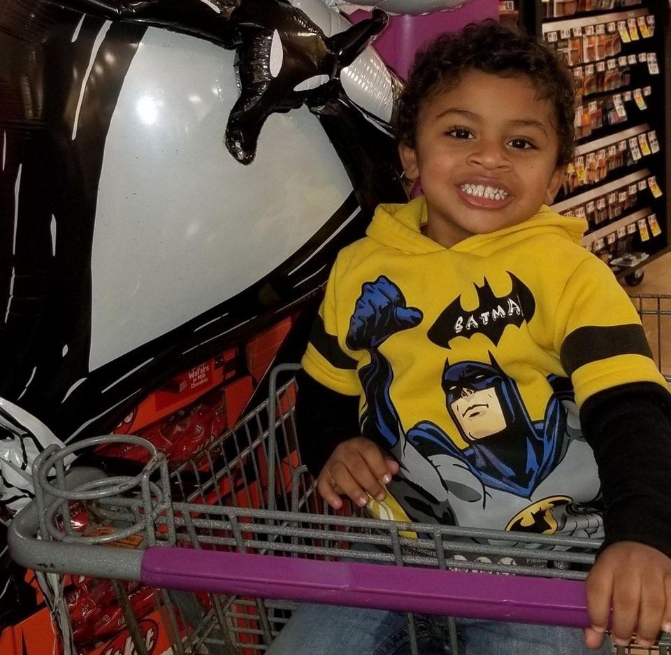 Draven Bradley, 3, from Ronkonkoma