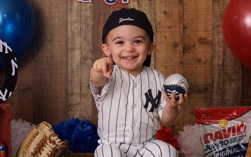 Liam LiCastro, 2, from East Meadow