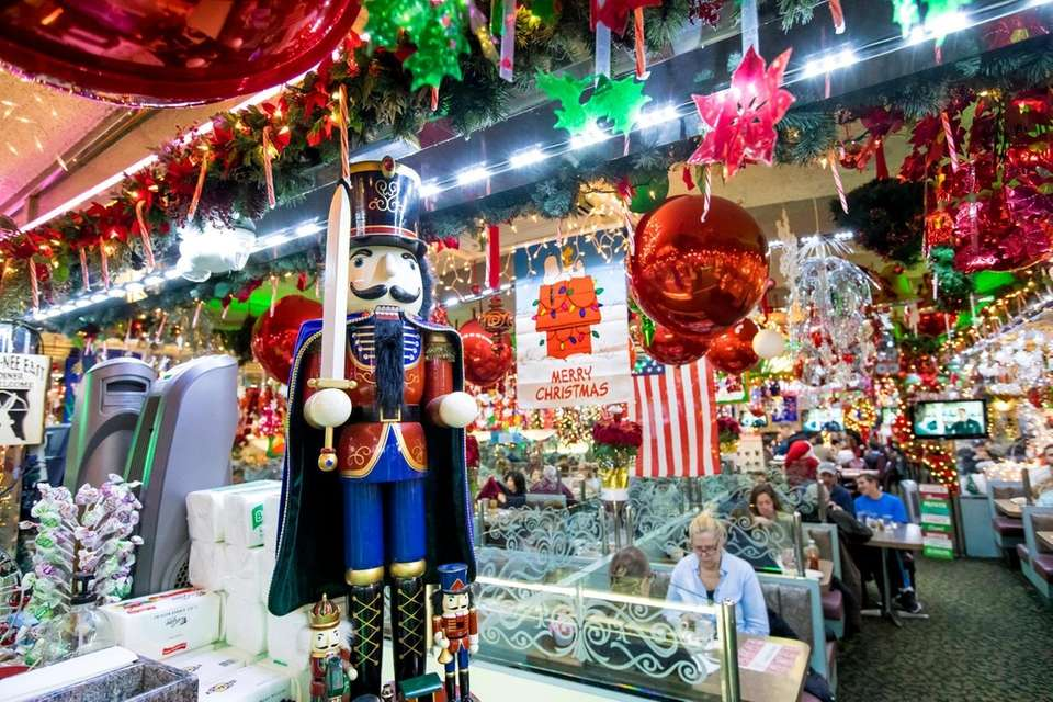 Nutcracker at Oconee Diner in Islip, Dec. 10,
