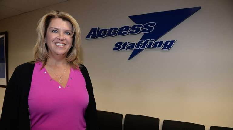 Linda Langer, vice president of Access Staffing in