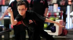 Middle Country's Ryan Witkin competes in a game