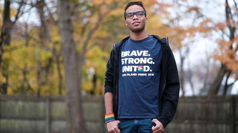 Zachary Reyes, 21, came out as gay about