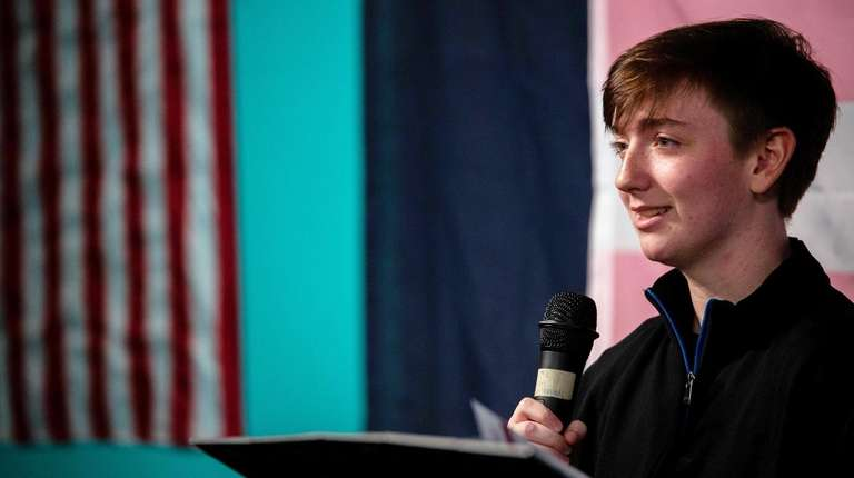 Devyn Egan, 18, speaks about his journey and