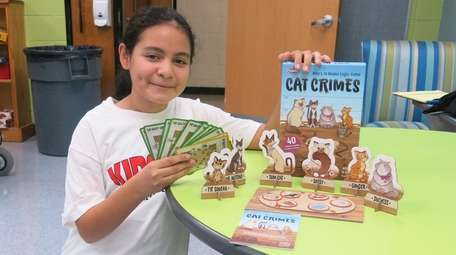 Kidsday reporter Alexa Larios tested the Cat Crimes