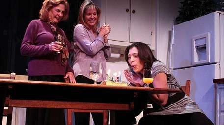 Diana Marbury, Birgitta Millard and Abbi Hawk in