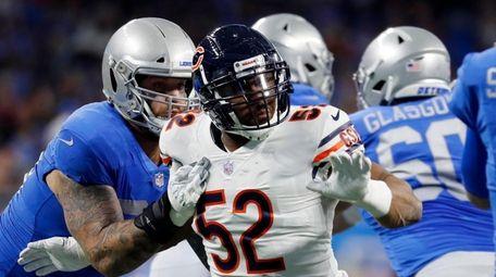 Bears outside linebacker Khalil Mack has been a