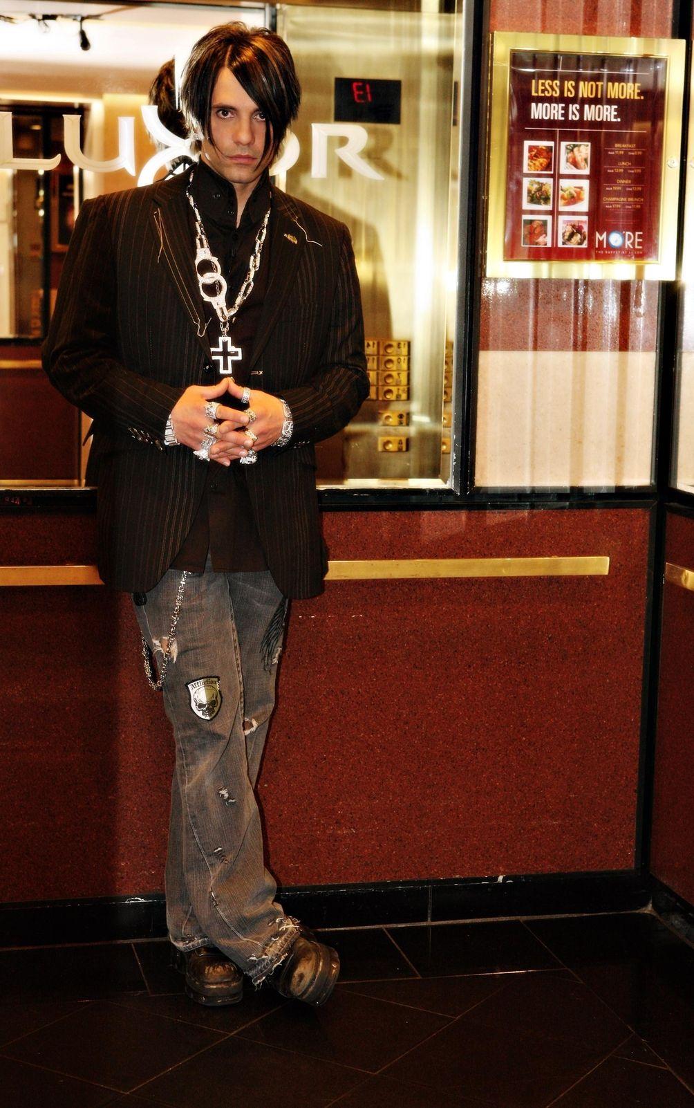 Illusionist Criss Angel, star of