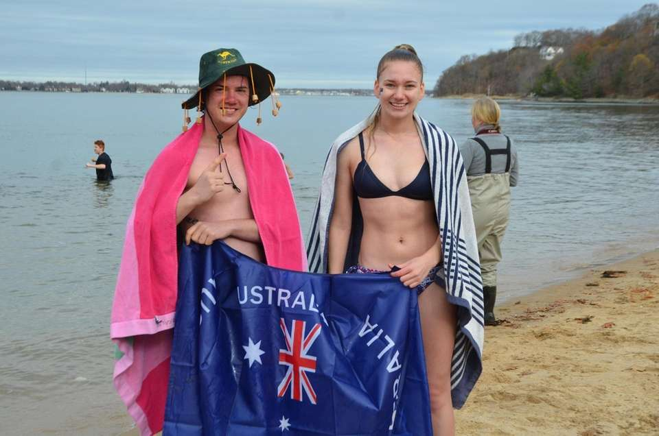 Lachlan McCall and Skye Wilkins came from Australia