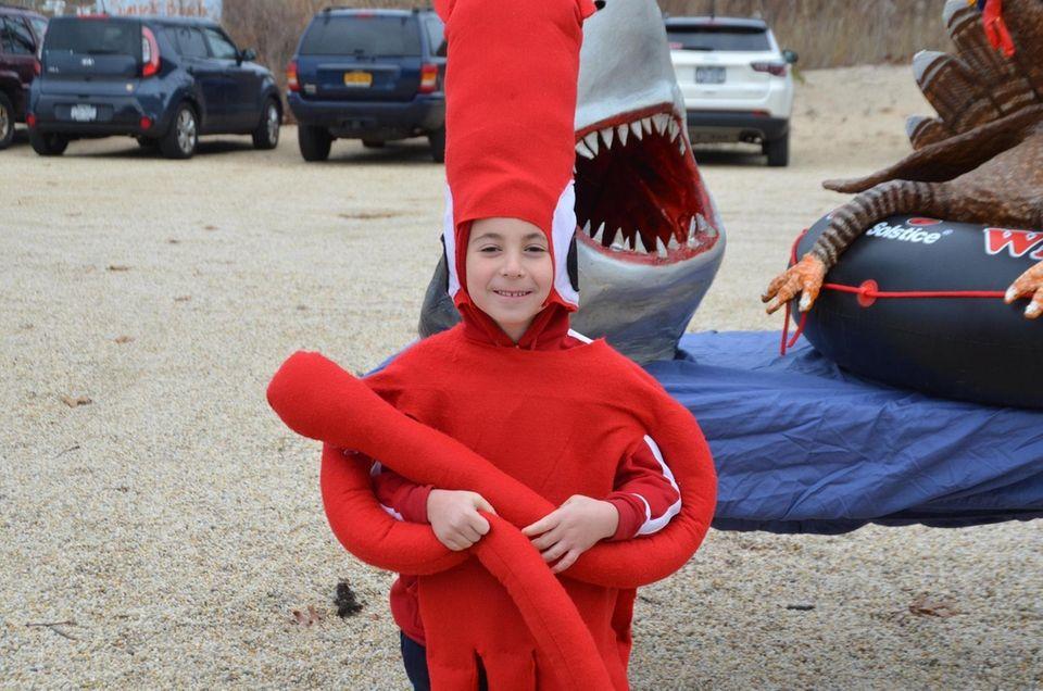 Daniel Nachumi, 6, won the best children's costume
