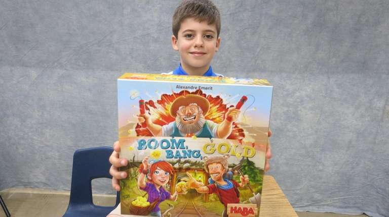 Kidsday reporter Ian Loring tested the board game