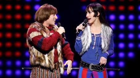 Jarrod Spector as Sonny Bono and Micaela Diamond