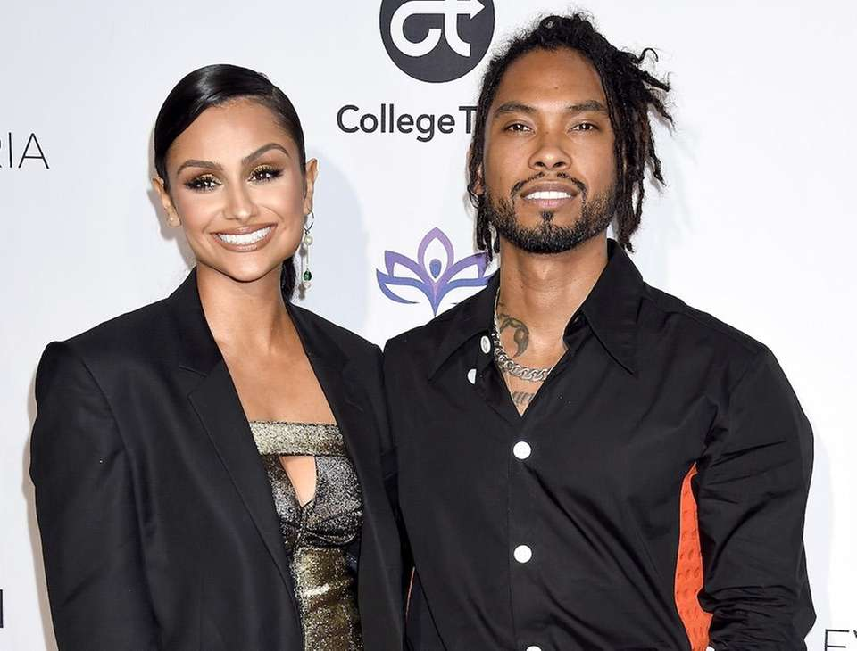 R&B singer Miguel and his longtime partner, actress-model