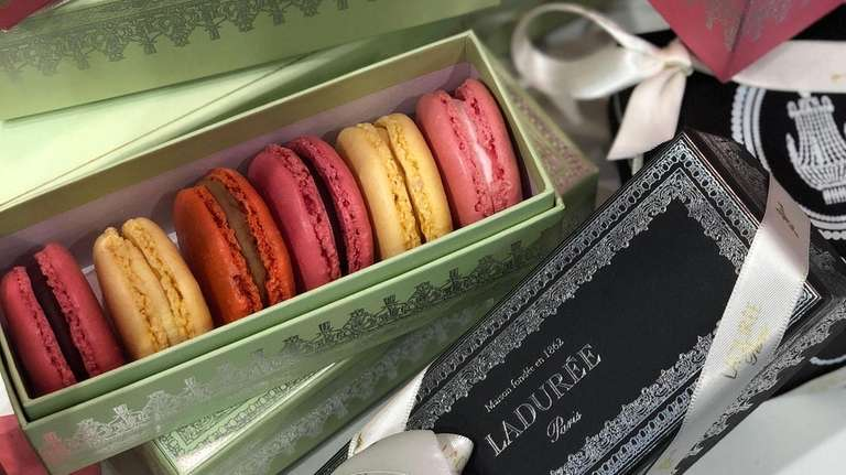 Ladurée French macarons have