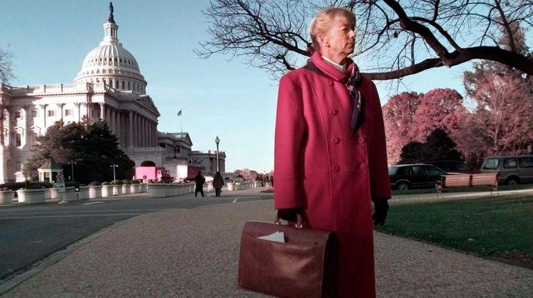 The newly elected Carolyn McCarthy on Nov. 15,