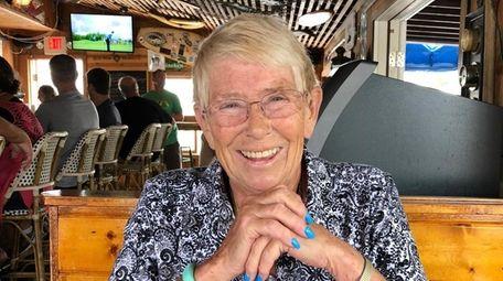 Carolyn McCarthy in August in Florida, where she