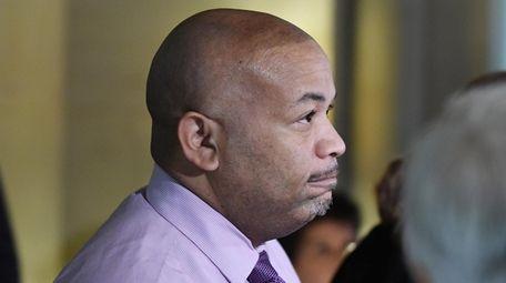 Assembly Speaker Carl Heastie seen on March 30,