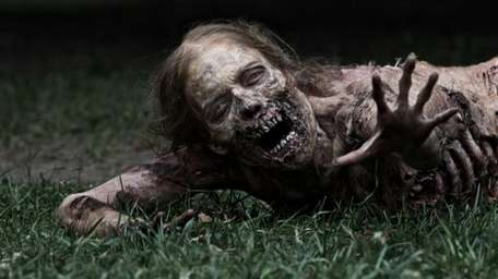 One of the zombies from AMC's