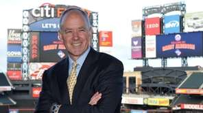 Sandy Alderson poses for a photo after the