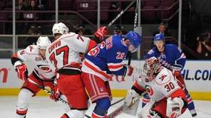New York Rangers center Erik Christensen (26) has