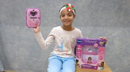 Kidsday reporter Emily Shah tested Kidi Secrets Selfie