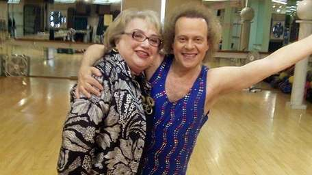 Sandy Tankoos and Richard Simmons