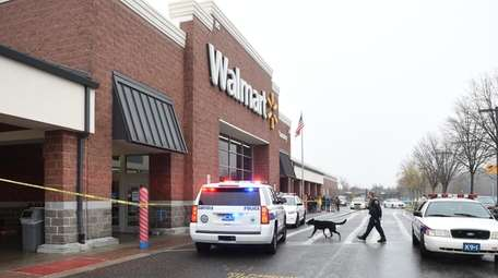 Police respond to Walmart on Crooked Hill Road