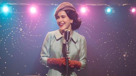 Rachel Brosnahan as Midge Maisel in Amazon Studios'