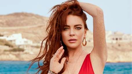 Lindsay Lohan appears in a 30-second clip promoting