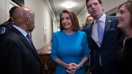 House Democratic leader Nancy Pelosi is seen Nov.