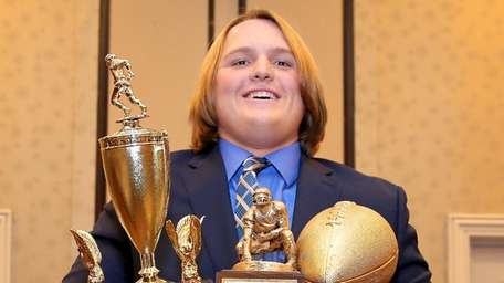 The Zellner Award was presented to Northport's Tyler