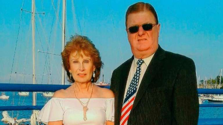 Helena and Tim Wresch, of Albertson,  celebrated