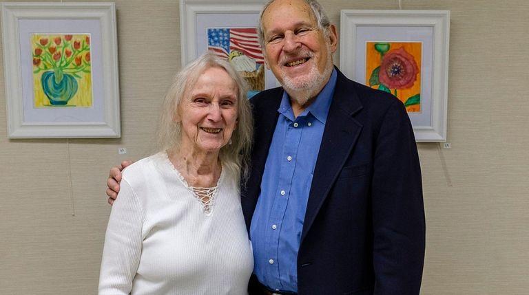 Marga Richter, left, and Herbert Deutsch, founders of