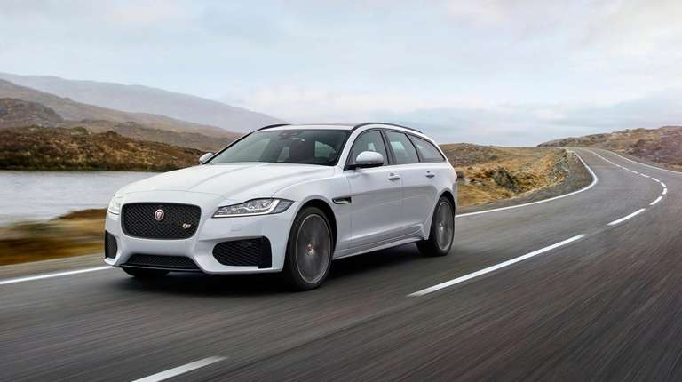 Jaguar's new wagon offers the performance of a