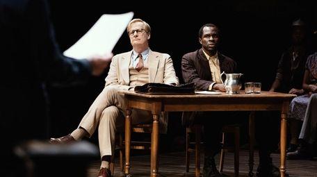 Jeff Daniels, left, stars as attorney Atticus Finch