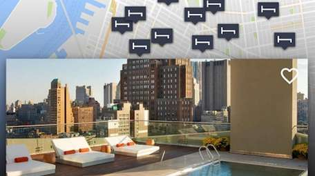 The Hotel Tonight app collects information from hotels