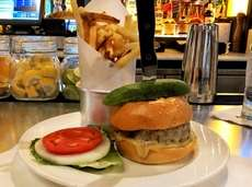 The Black Label burger at The Bryant in