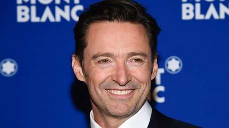 Hugh Jackman attends a Montblanc event in Manhattan