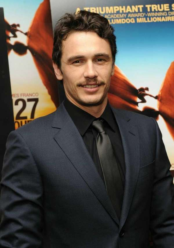 Actor James Franco attends the New York premiere