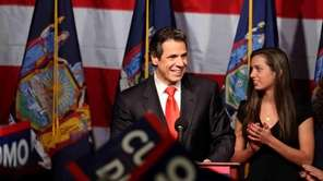 Andrew Cuomo declares victory in the New York