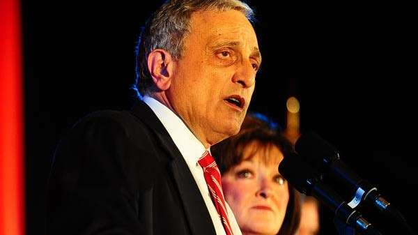 GOP gubernatorial candidate Carl Paladino delivers his concession