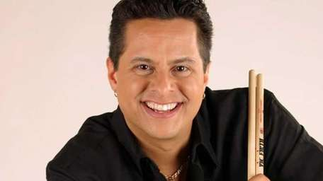 May 2009 -- Tito Puente Jr. and his