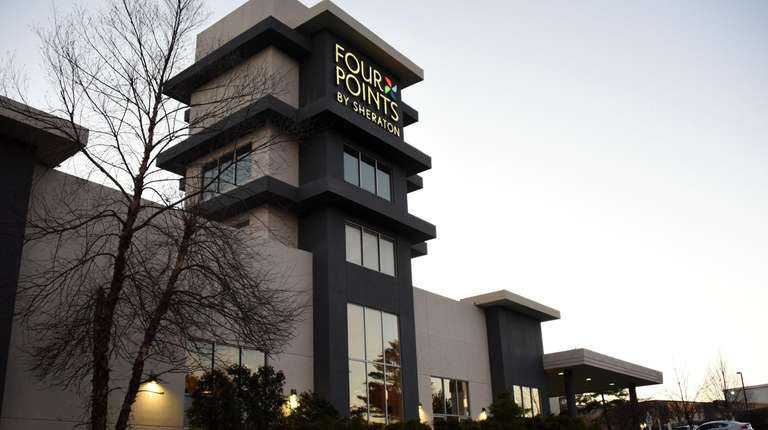Four Points by Sheraton Melville Long Island, seen