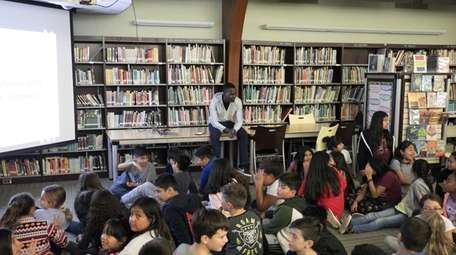 Fifth-graders at Southampton Intermediate School learned about a