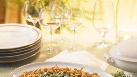The original green bean casserole has been appearing