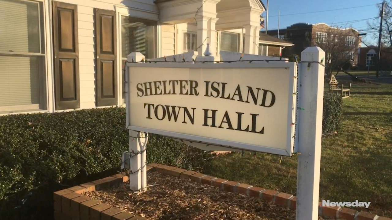 Shelter Island town engineer John Cronin explained Tuesday